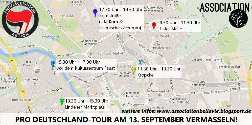 Aktionskarte für den 13. 09.