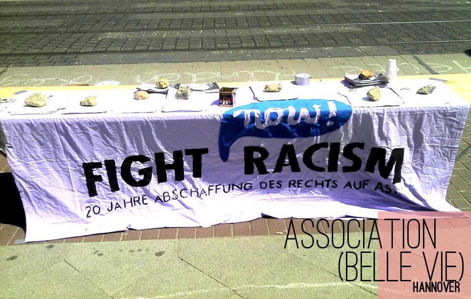 Fight Racism Now! - Infostand 08. 06.